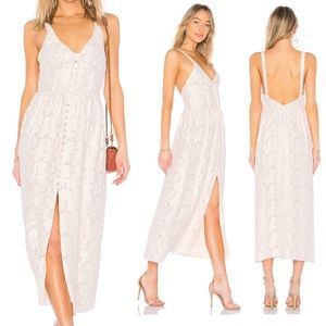 Free People Fresh as a Daisy Button Maxi Dress